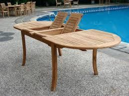 teak outdoor dining table grade a teak wood oval outdoor dining table large round teak outdoor