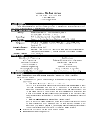 computer science resume template sample cv of students   mdxar