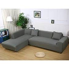 couch covers for l shaped couches. Brilliant Couches Getmorebeauty L Shape Sofa Covers Sectional Cover 2 Pcs Stretch  Slipcovers For L And Couch For Shaped Couches