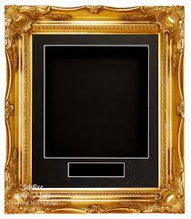 new gold swept ornate baroque rococo deep box