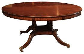 extra large 64 88 round dining table with perimeter leaves