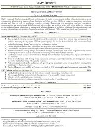 Medical Office Administration Duties Functional Resume For An Office Assistant Administration Duties Cv