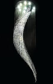 awesome ceiling crystal chandelier modern wave pendant intended for elegant house rain drop plan chandeliers lighting awe