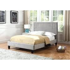 tufted platform bed. Velvet Platform Bed Best Quality Furniture Upholstered Grey Tufted .