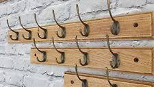 10 Hook Coat Rack Oak Wood Vintage Hanger for Coat Rackhandmade 100 Hooks1000 Cm eBay 25