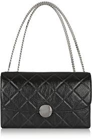 Marc Jacobs Trouble Quilted Leather Shoulder Bag | Where to buy ... & ... Black Quilted Leather Crossbody Bags Marc Jacobs Trouble Quilted  Leather Shoulder Bag ... Adamdwight.com