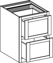 desk base 2 drawer