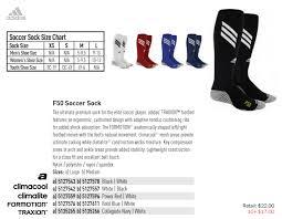 Adidas Socks Sizing Chart