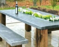 cement outdoor table round cement table furniture x base outdoor concrete outdoor dining table nz