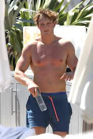 logan paul abs. Brilliant Logan American Social Media Personality Logan Paul Displaying His Abs Shirtless  And Poolside In Miami Beach Intended Abs 9