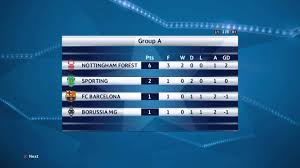 champions league table of round 16 sesigncorp gallery