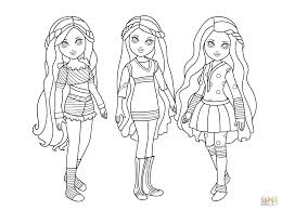 Small Picture Moxie Dolls coloring page Free Printable Coloring Pages