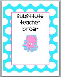 Teacher Binder Templates Free Substitute Teacher Binder Math Cover Templates And Spine Images