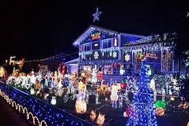 Christmas Light Displays Richmond Bc Video And Map Christmas Light Displays In Surrey And Beyond