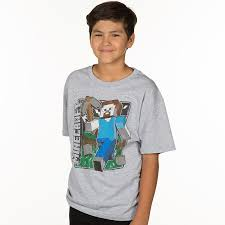 JINX : Minecraft Vintage Steve Youth Tee