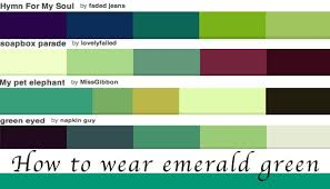 How to wear green