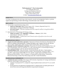 Resume Objective | Samples Resume Templates And Cover Letter