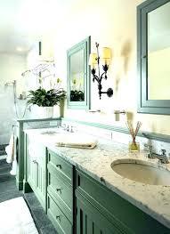 repainting bathroom cabinets chalk paint bathroom cabinets how to repaint bathroom cabinets green painted bathroom cabinets