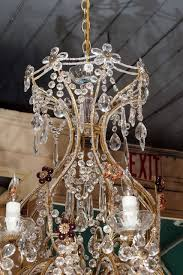 antique italian crystal