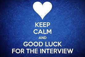 good interview tk good interview