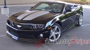 2010-2013 2014-2015 Chevy Camaro Hood Stripes R-Sport Convertible ...