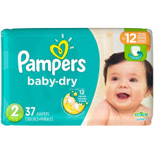 pampers swaddlers size 2 132 count pampers baby dry diapers size 2 37 count diapers from jewel osco
