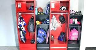 kids bedroom lockers pro stadium with mixed sizes and colors home design ideas app for boys