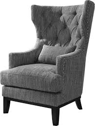 gray wingback chair. Val Wingback Chair Reviews Joss Main For Grey Decorations 3 Gray R