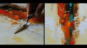 abstract painting how to make abstract painting for beginners demonstration tutorial