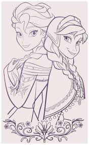 Disney Princess Coloring Pages Frozen Elsa And Anna My Blog