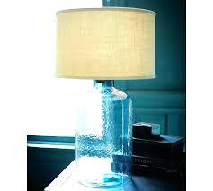aqua glass lamp sea aqua glass table lamp