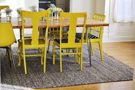 painted dining room furnitureround up painted dining room chairs  RICEdesigns