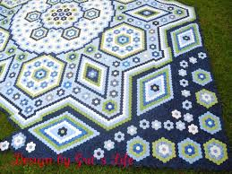 Faeries and Fibres: Cherry Blossom Quilt pattern, hexagon fun and ... & Cherry Blossom Quilt pattern, hexagon fun and three more nine patches Adamdwight.com