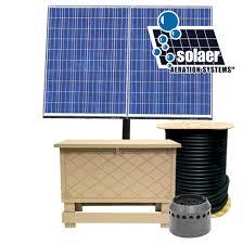 keeton industries solar aerator pond aerator clean pond battery backup solar aerator