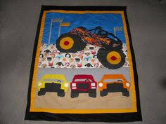 Modern Monster Truck Quilt Tutorial | Easy Baby Quilts | Pinterest ... & Find this Pin and more on Quilts. Monster truck ... Adamdwight.com