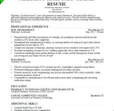 Pharmacy Technician Resume Objective Delectable Sample Tech Resume Resume Creator Simple Source