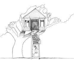 Small Picture Tree House 21 Buildings and Architecture Printable coloring pages