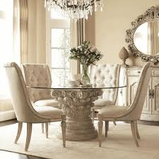 fresh antique white round dining table