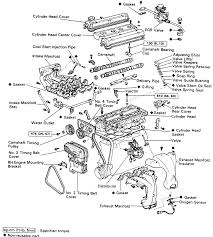 4A-GE (exploded view) | Everything AE86 | Pinterest | Exploded ...