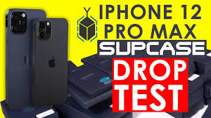 iPhone 12 Pro Max & SUPCASE Unboxing and Drop Test - YouTube