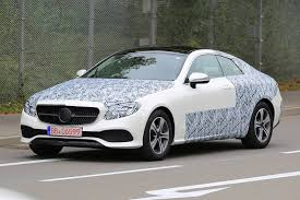 2018 mercedes benz e class coupe. modren coupe 2018 mercedesbenz eclass coup spy shots supercar to mercedes benz e class coupe