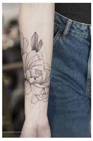 тату цветы пионы тату на руке для девушек дотворк графика рецепт