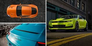 Yellow Car Paint Chart The Wildest Paint Colors Available In 2019 New Car Paint Jobs
