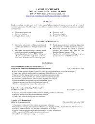 Higher Education Resume Professional User Manual Ebooks