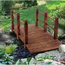 arch bridge small wooden bridge