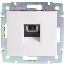 <b>Телефонная розетка</b> встраиваемая Legrand Valena RJ11, цвет ...