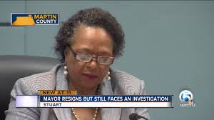 Eula Clarke steps down as Stuart mayor - YouTube
