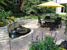 patio water features inspiration ideas fountains with backyard intended for patios plans 14 patio water features i99