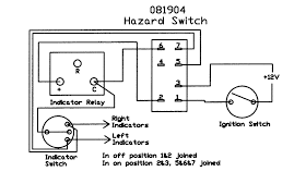 hazard switch rocker 081904 wiring diagram · hazard switches