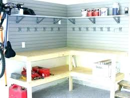 Garage Workbench Plans And Patterns Beauteous Garage Workbench Ideas Adjustable Workbench Height Garage Workbench